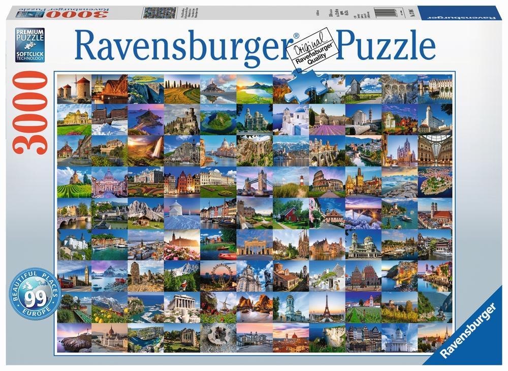 Ravensburger Puzzle Die 99 schönsten Plätze