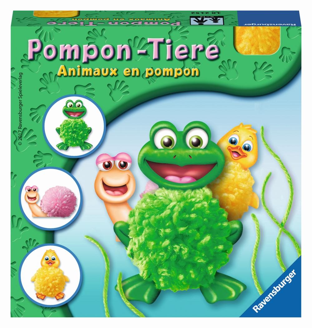 Pompon-Tiere basteln