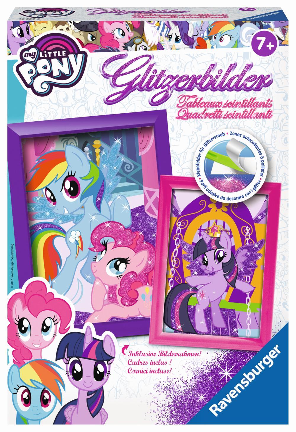 Ravensburger Glitzerbilder My little Pony