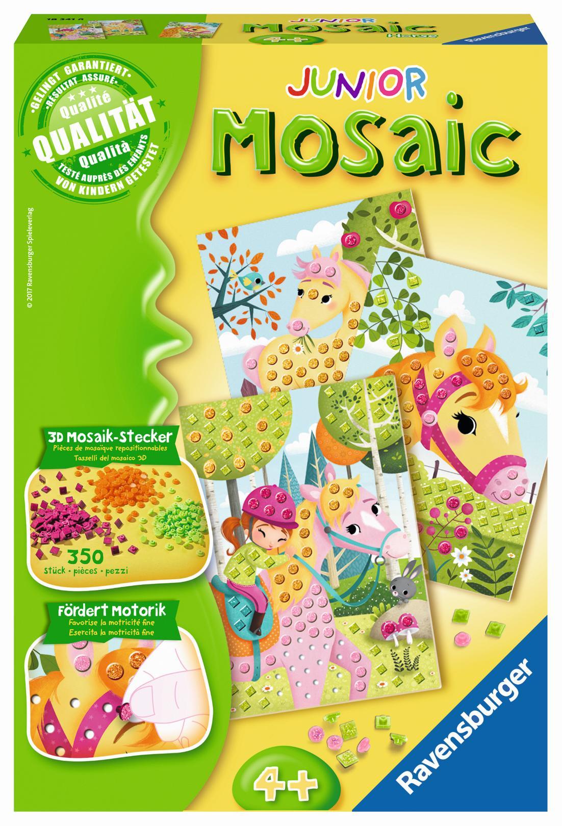 Ravensburger Mosaic Junior Pferde