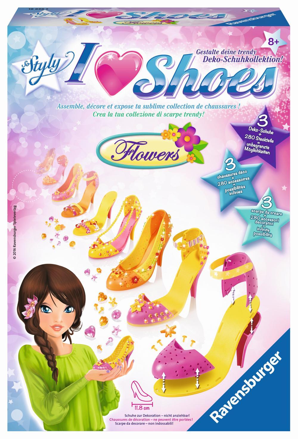 Ravensburger I love Shoes Flowers