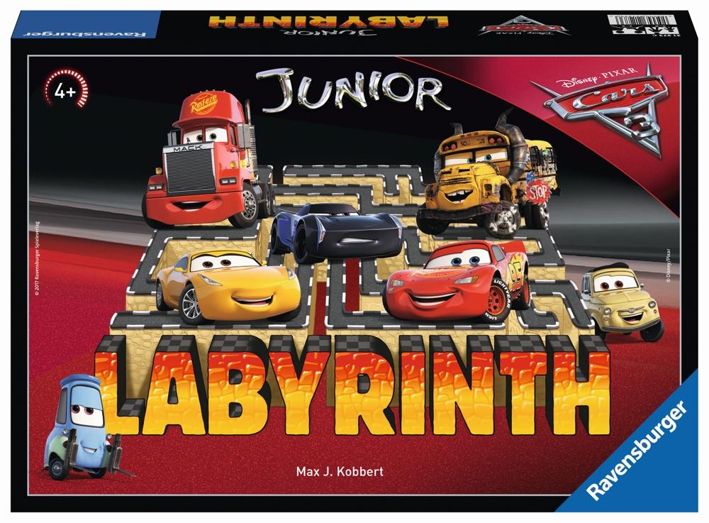 Ravensburger Junior Labyrinth Cars 3