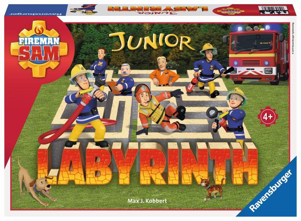 Ravensburger Labyrinth Junior Feuerwehrmann Sam