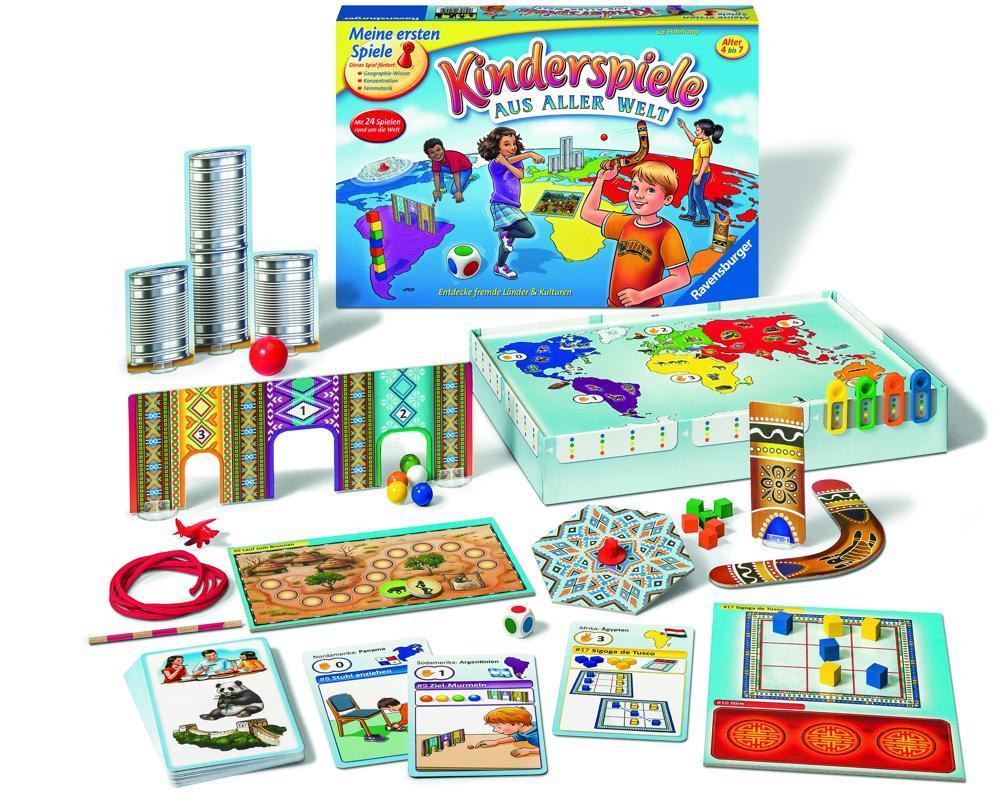 Ravensburger Kinderspiele aus der Welt