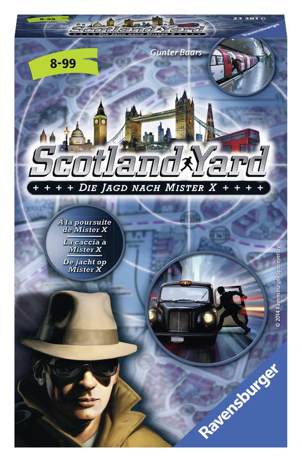 Ravensburger Scotland Yard Die Jagd nach Mister X