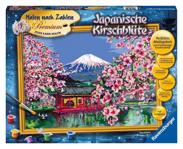 Ravensburger Malen nach Zahlen Kirschblüte