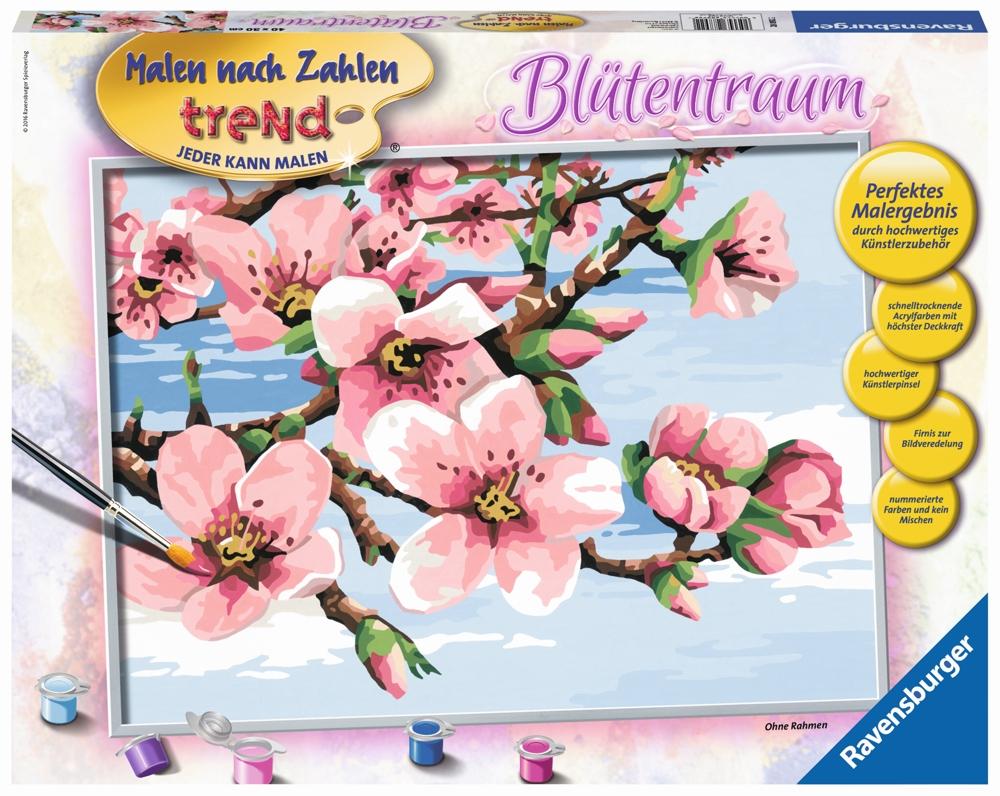 Ravensburger Malen nach Zahlen Blütentraum