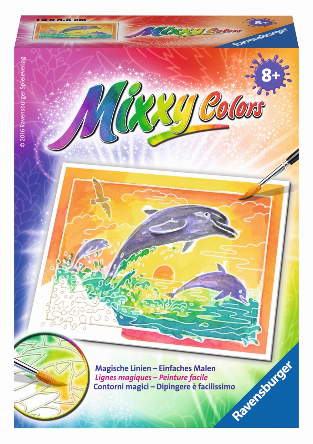Mixxy Colors Spielende Delfine
