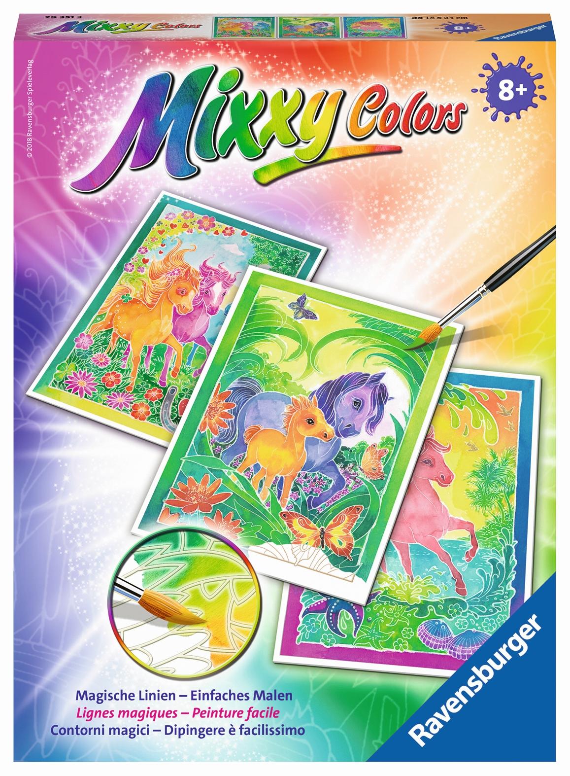 Mixxy Color Ponys