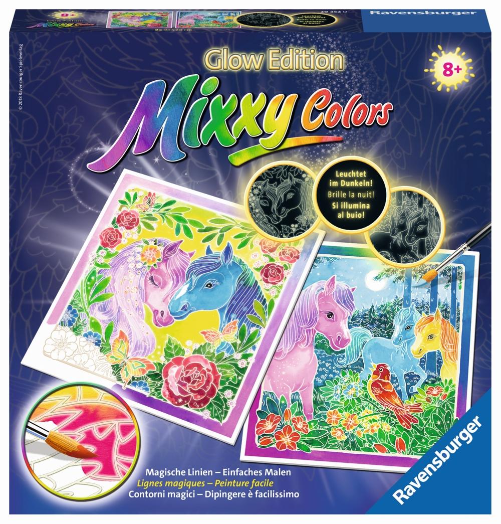 Mixxy Color Bunte Ponys