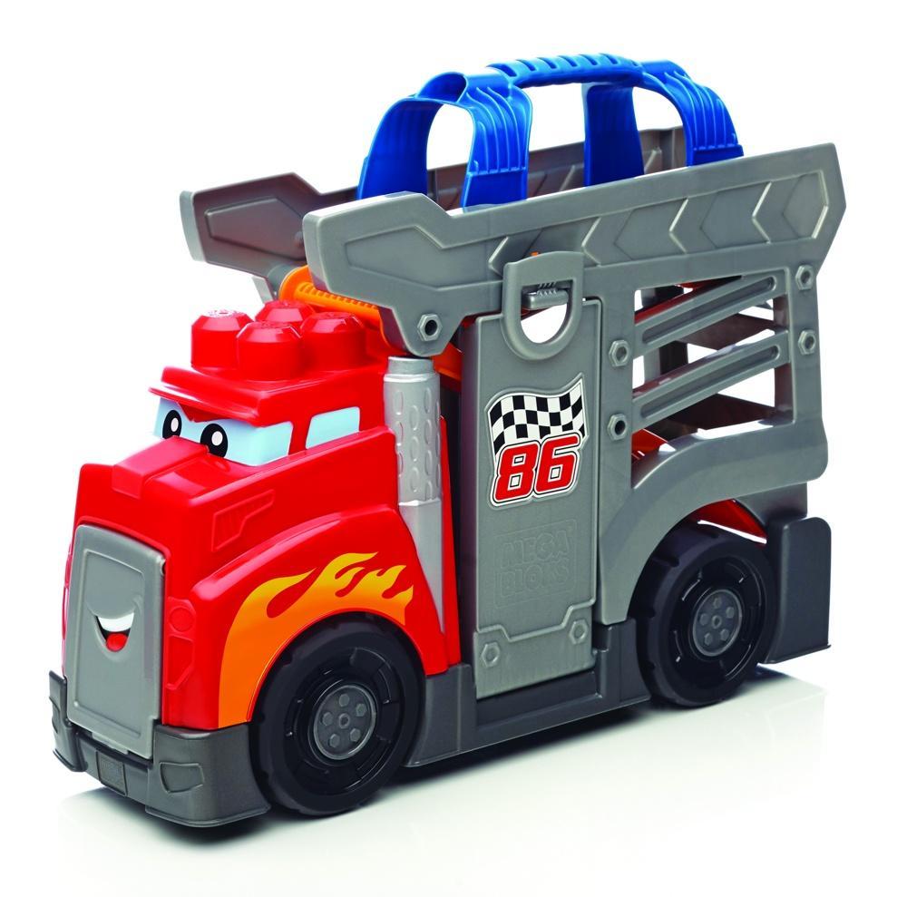 MEGA BLOKS Rennwagen Transport