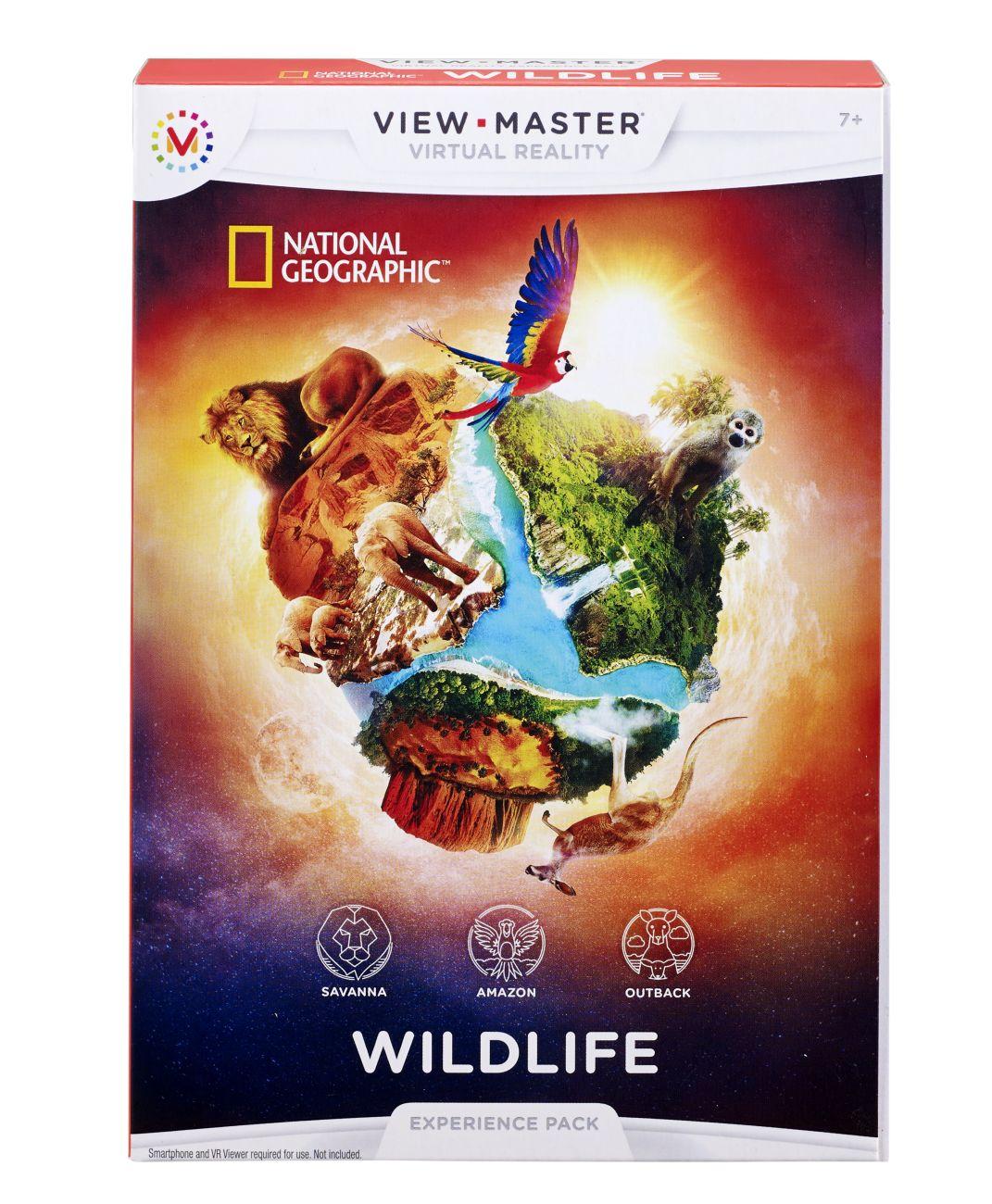 Mattel View Master Erweiterung Wildtiere