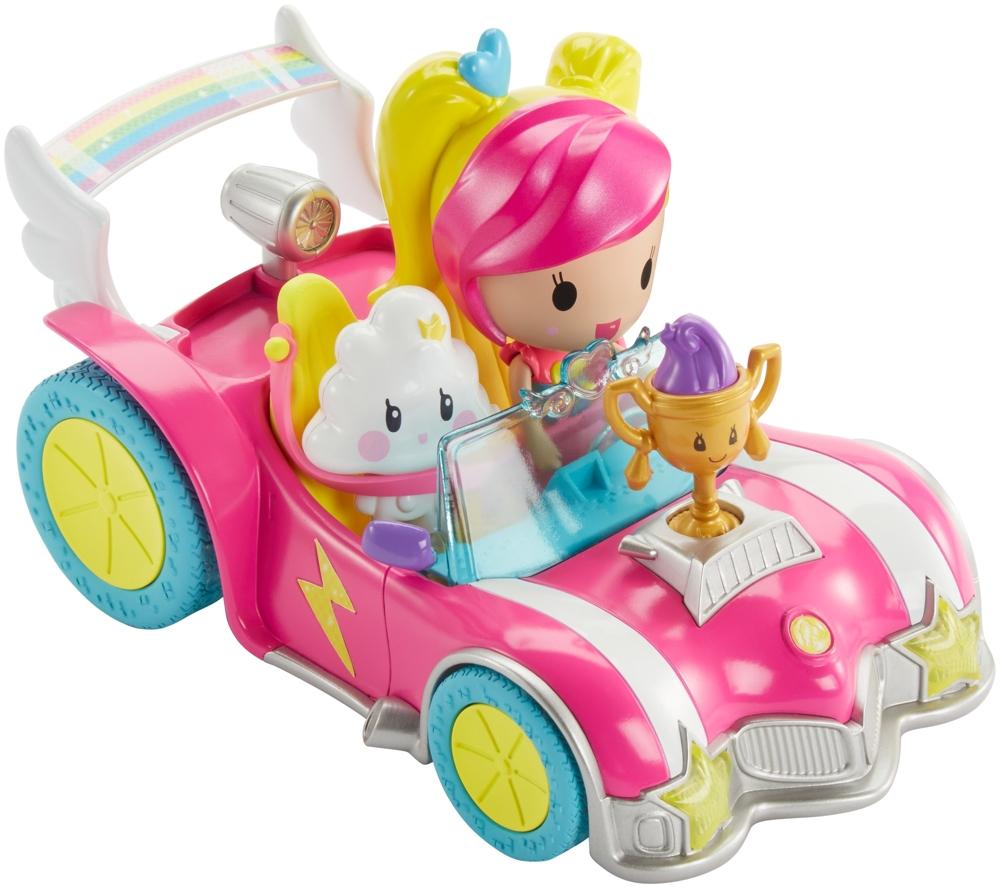Barbie Video Game Hero Pixel-Mobil Set
