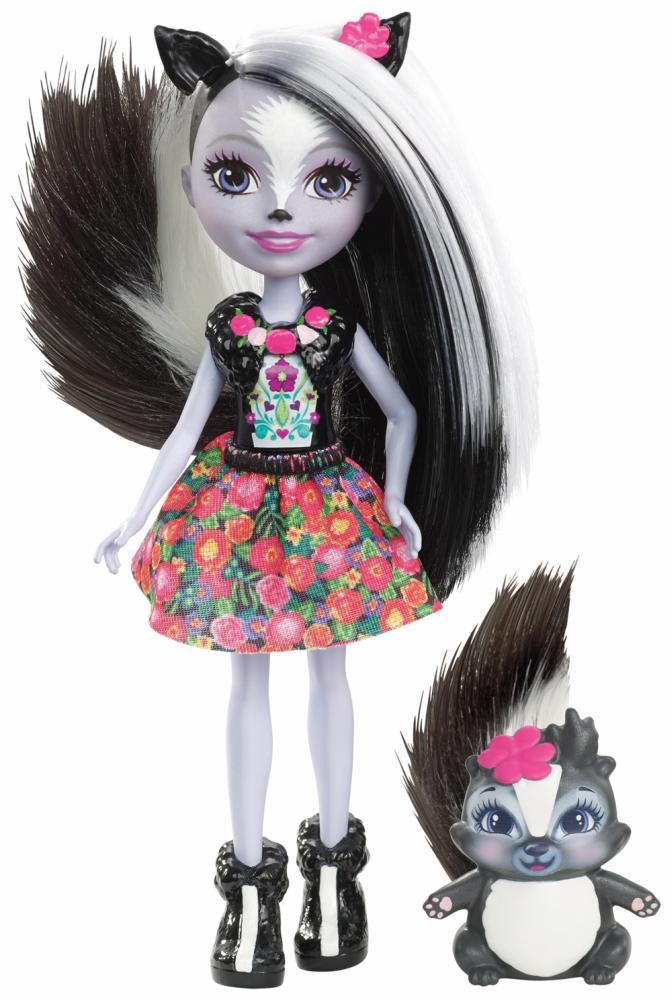 Mattel Enchantimals Stinktiermädchen Sage Skunk