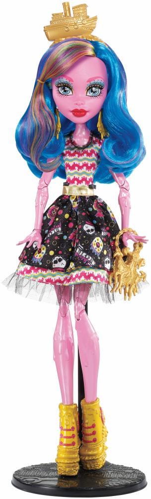 Monster High Gruselschiff Gooliope Jell