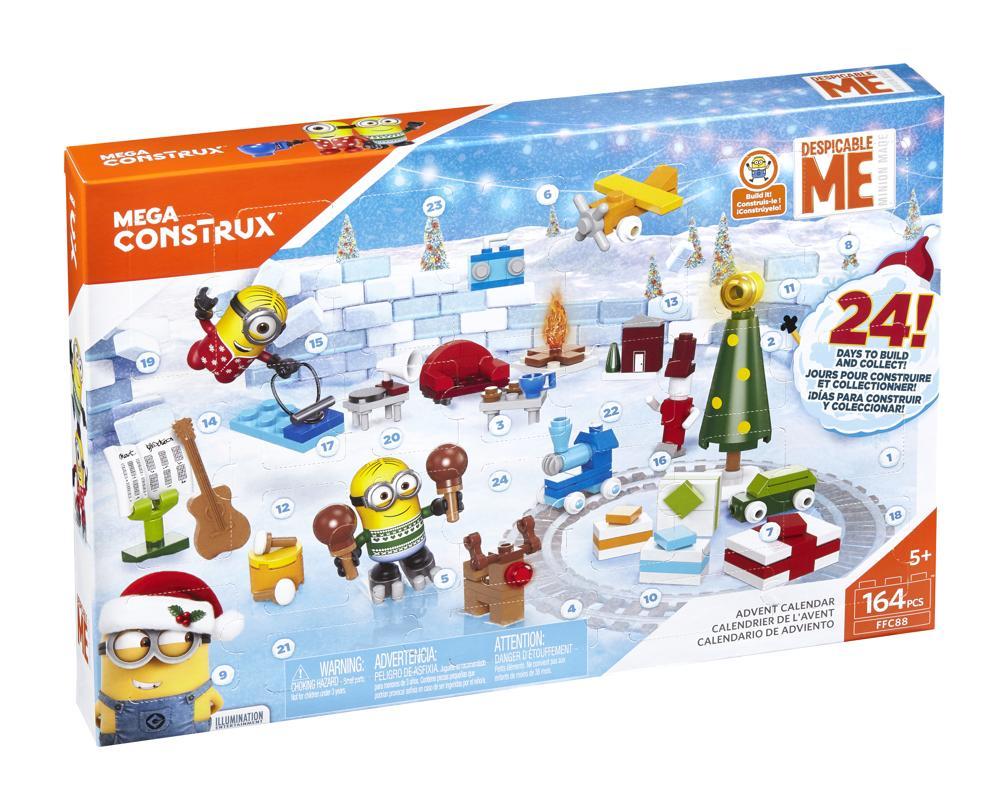- Mega Bloks Adventskalender Minions 3 - Onlineshop Spiele Max
