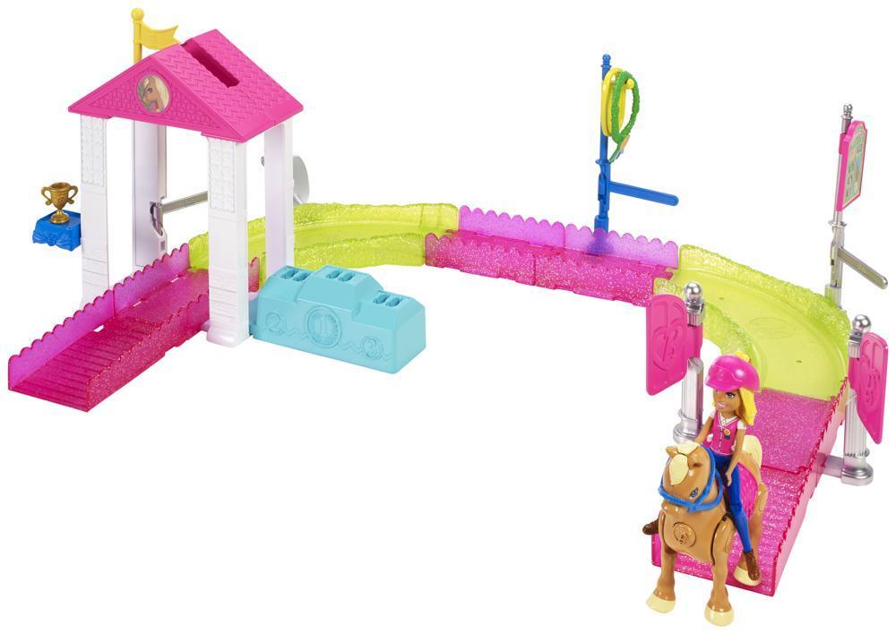 Barbie On The Go Pony Spielset
