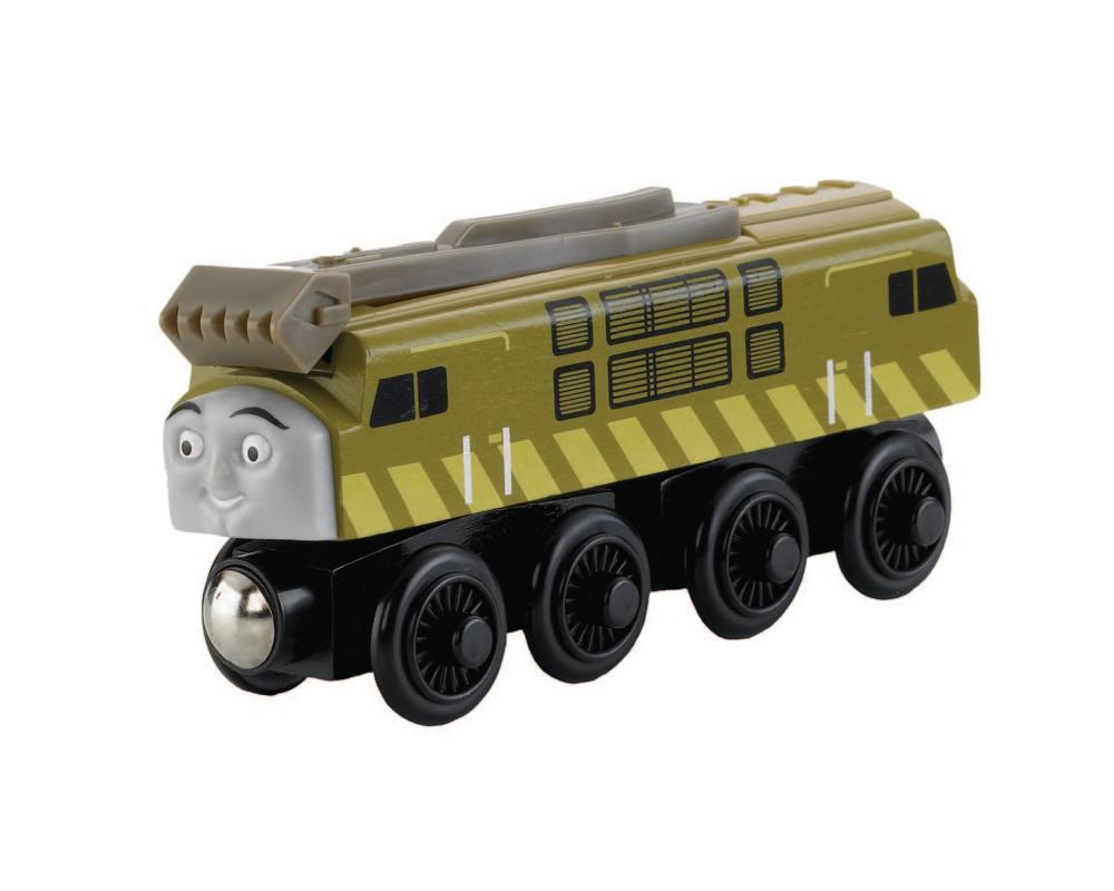 Fisher-Price Eisenbahn Diesel 10 Holz