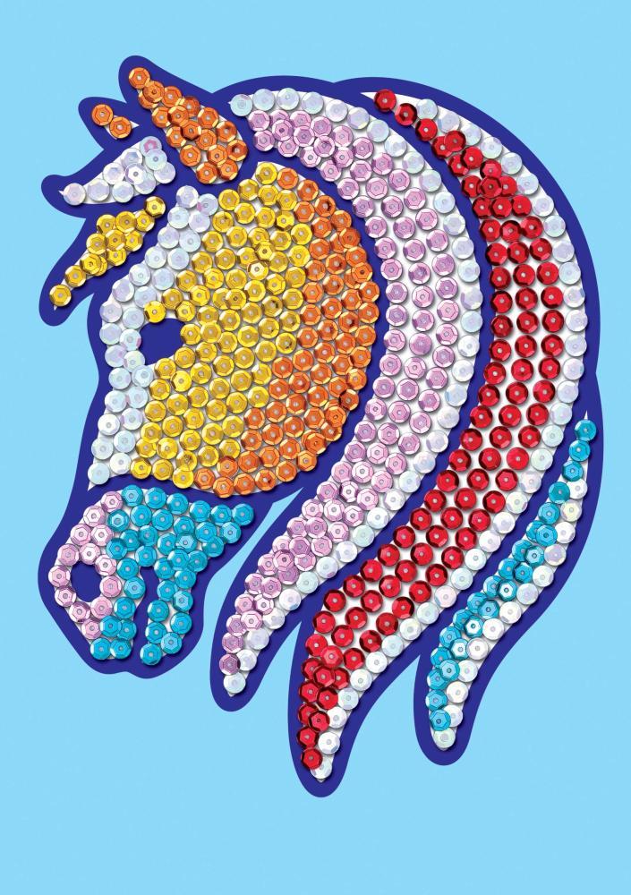 Sequin Magic Pferd
