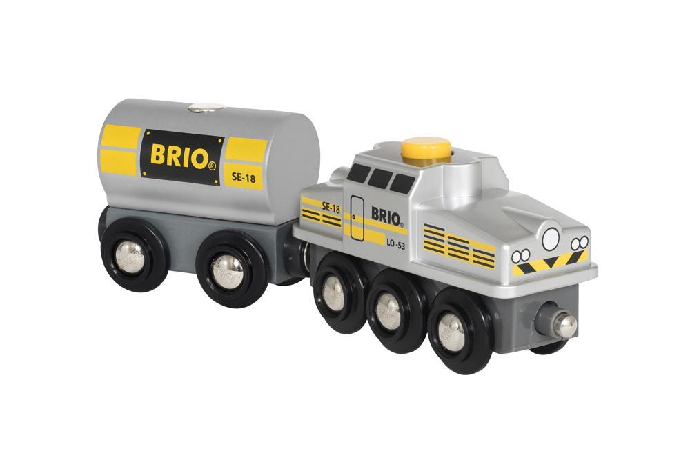 BRIO Silberner Frachtzug 2018