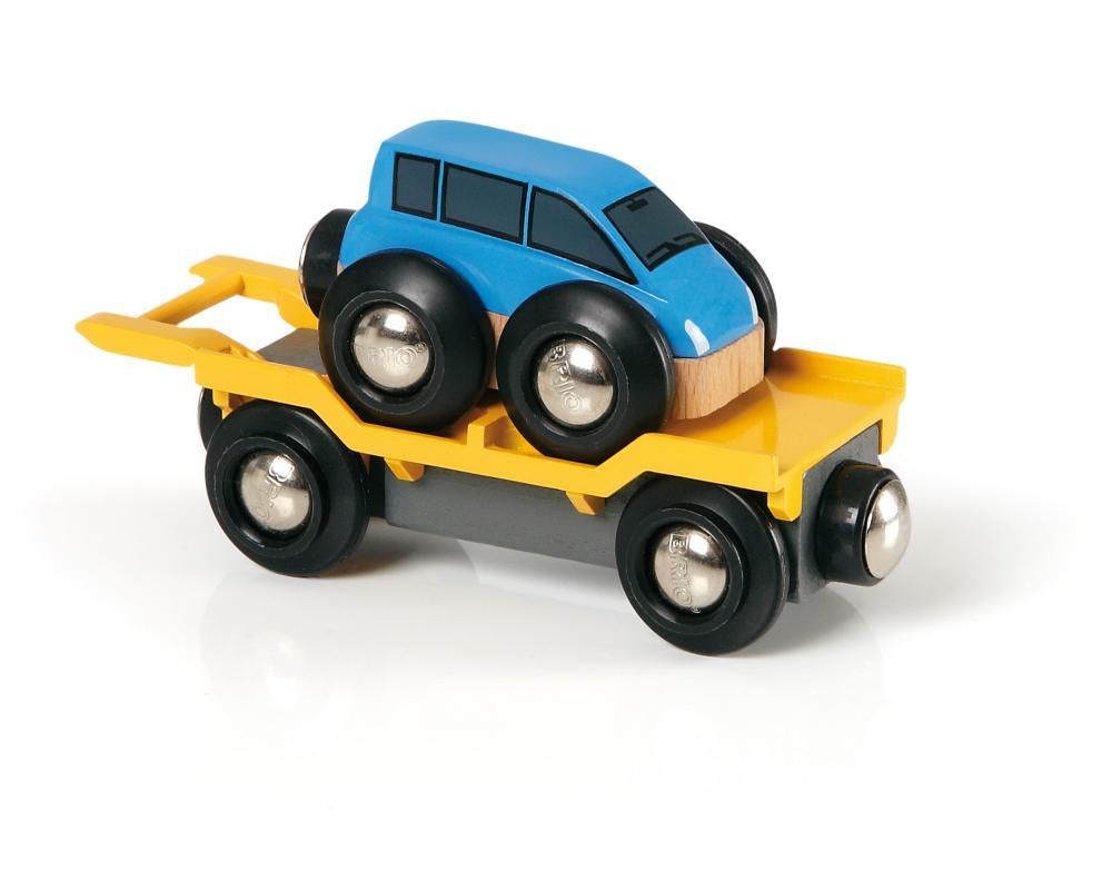 BRIO Autotransporter mit Rampe