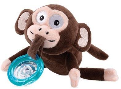 Nuby Affe mit Halter und Flex Beißring