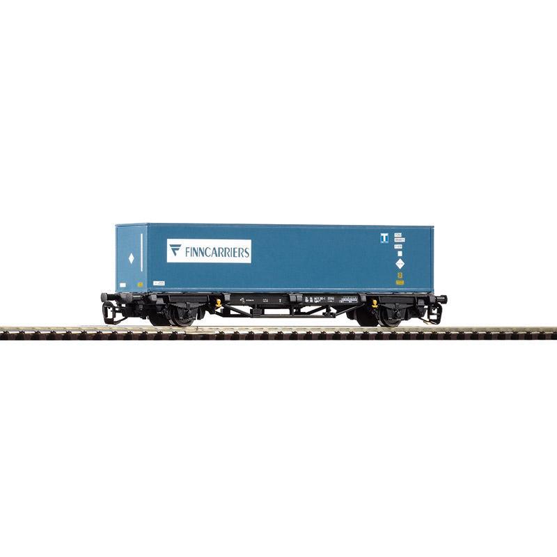 PIKO 47713 TT Containertragwagen 1x40 Finncariers
