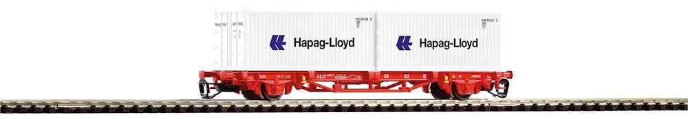 PIKO 47718 TT Containertragwagen 2X20´ Hapag DB AG