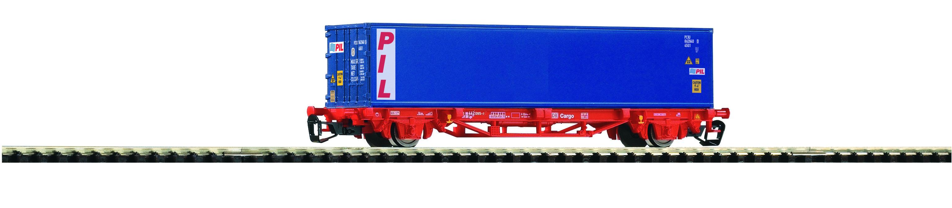 PIKO 47719 TT Containertragwagen DB AG VI