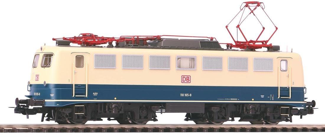 PIKO 51742 H0 E-Lok BR 110 blau/beige DB AG V