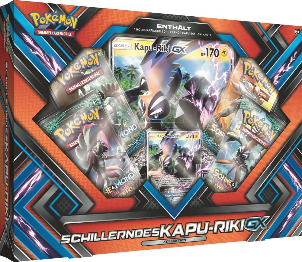 Pokemon Schillerndes Kapu Riki GX Box