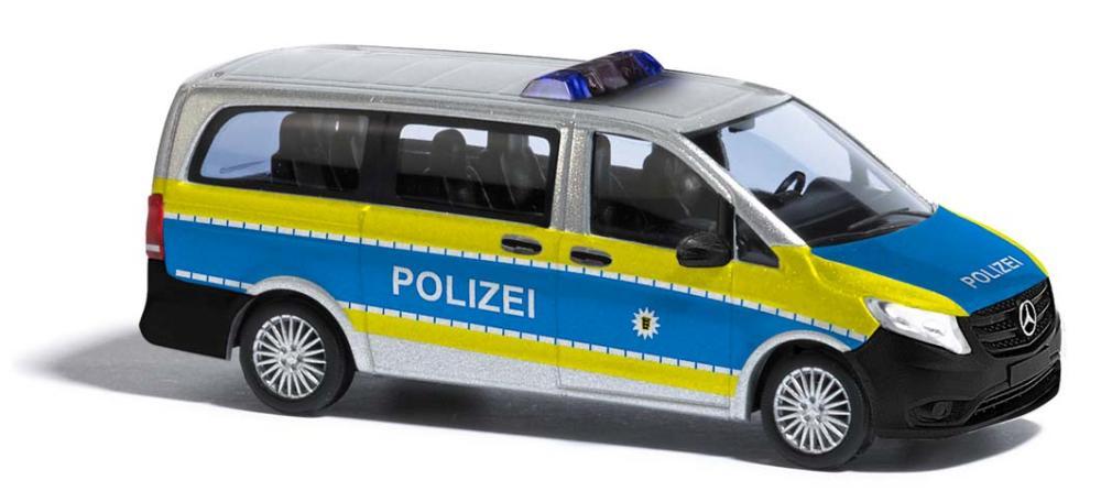 Busch H0 Mercedes V Polizei BW