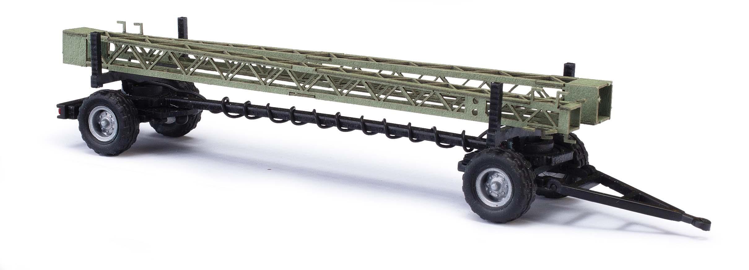 BUSCH 59943 Anhänger mit Stahl-Gittermasten