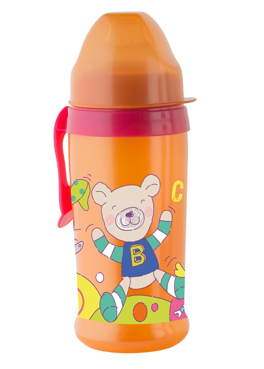 Trinkflasche Silikon raspberry-mandarie