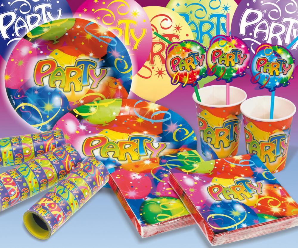 Partyset Ballonparty 66-teilig