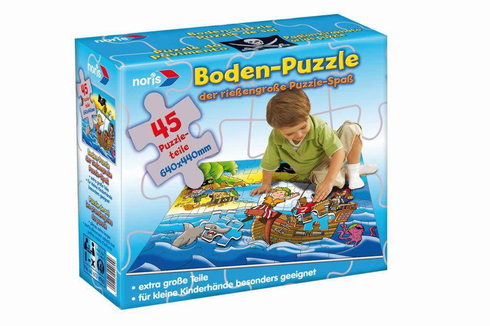 Noris Riesenpuzzle Piraten 45-teilig