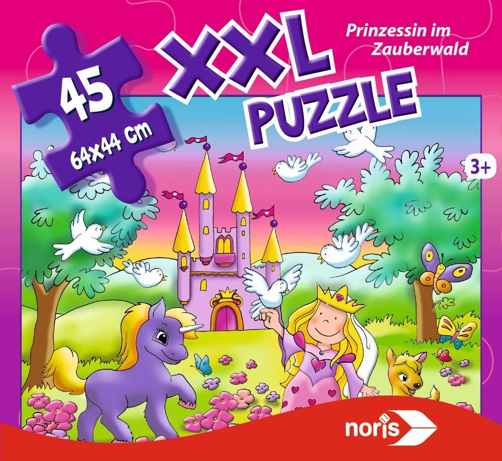 Noris Riesenpuzzle Prinzessin 45-teilig