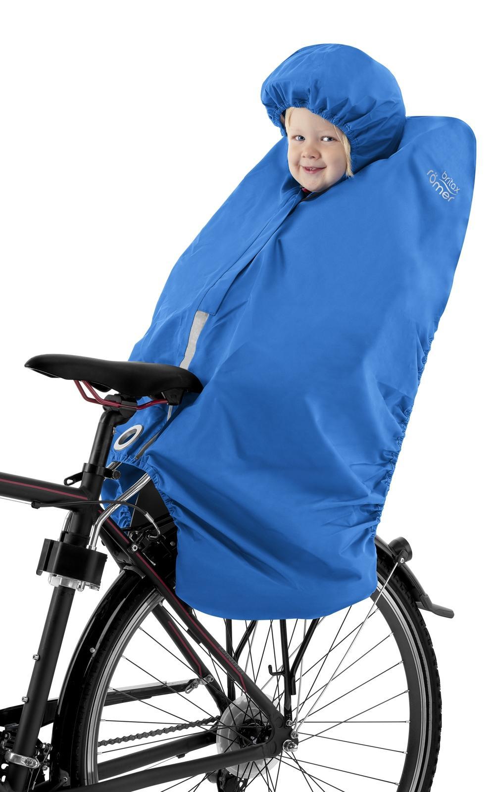 Britax Jockey Rain Poncho Aqua Blue