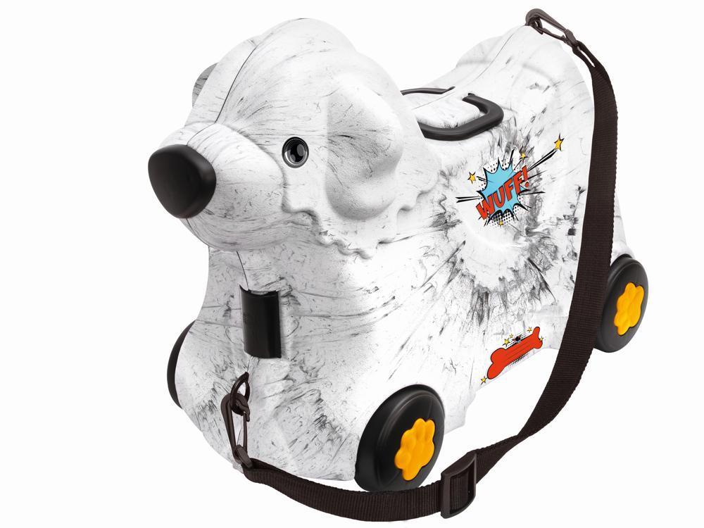 BIG Bobby Trolley weiß Hund