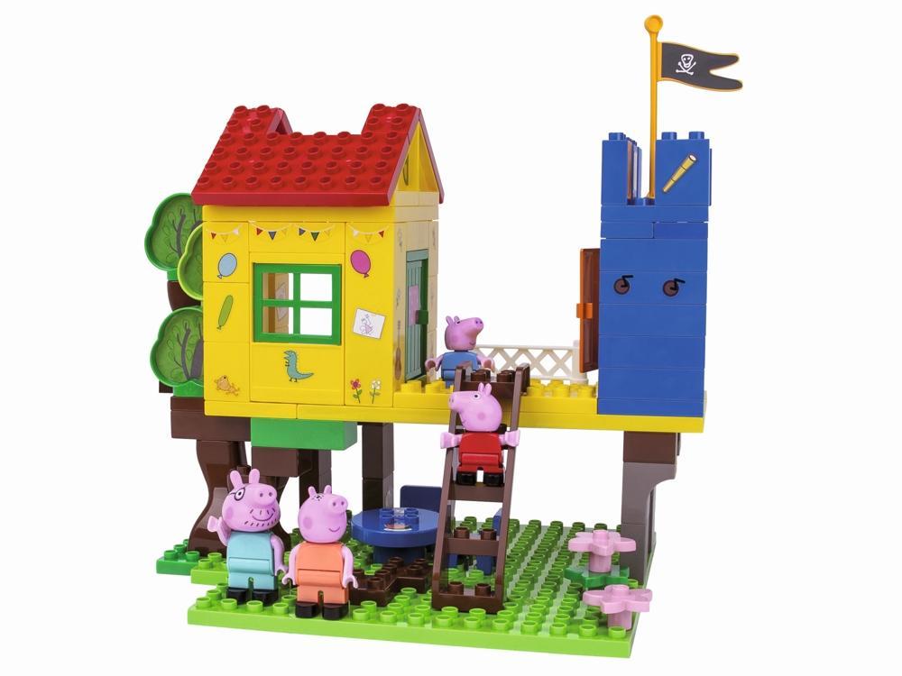 big playbig bloxx peppa pig treehouse preisvergleich baumhaus g nstig kaufen bei. Black Bedroom Furniture Sets. Home Design Ideas
