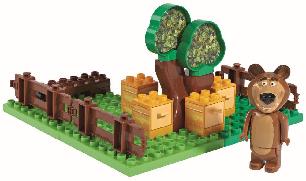 PlayBIG BLOXX Mascha und der Bär Mischas Garten