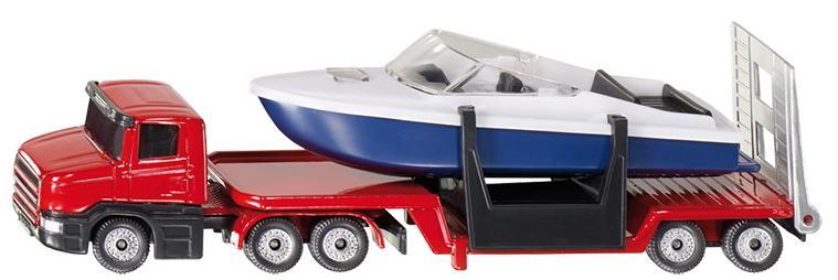 Siku Tieflader mit Boot