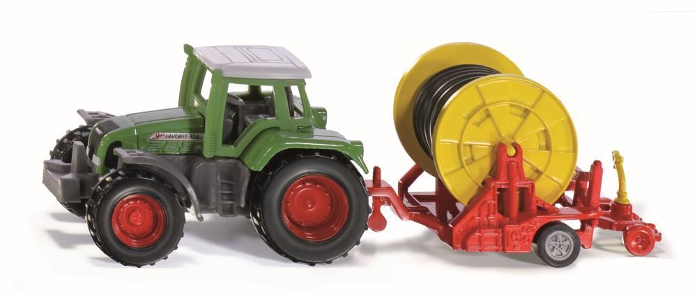 Siku Traktor mit Bewässerungshaspel
