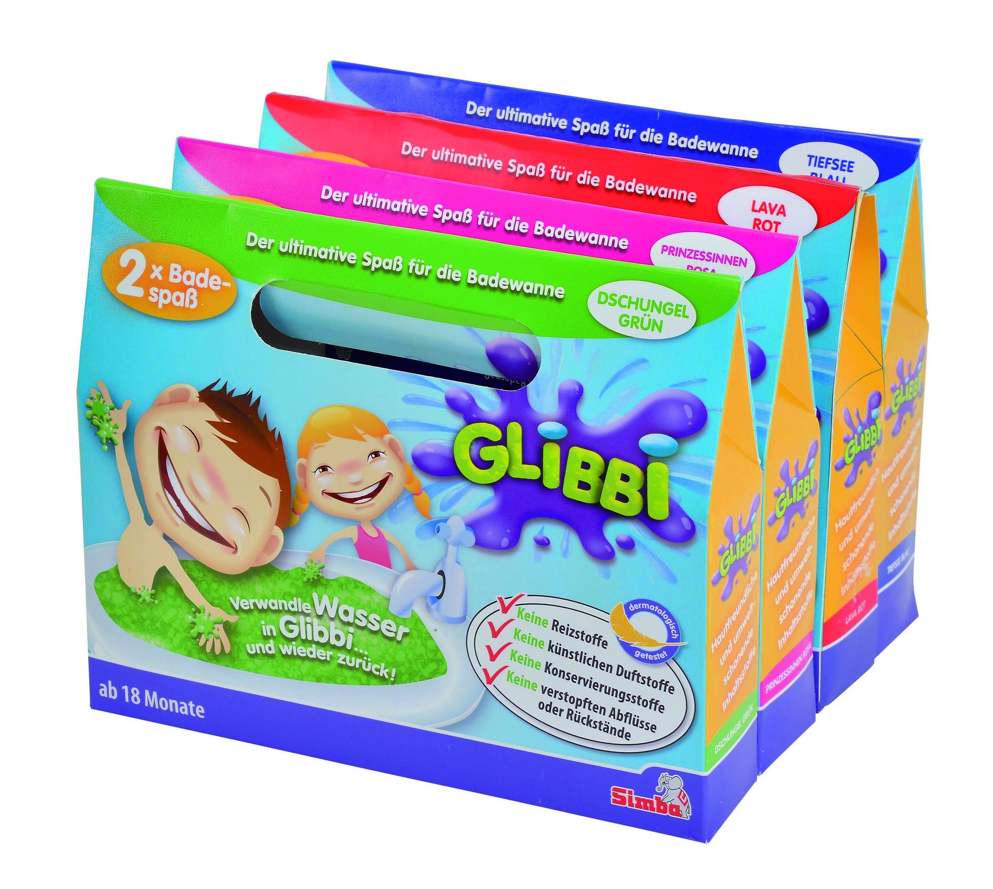 Simba Glibbi Glibber für die Badewanne