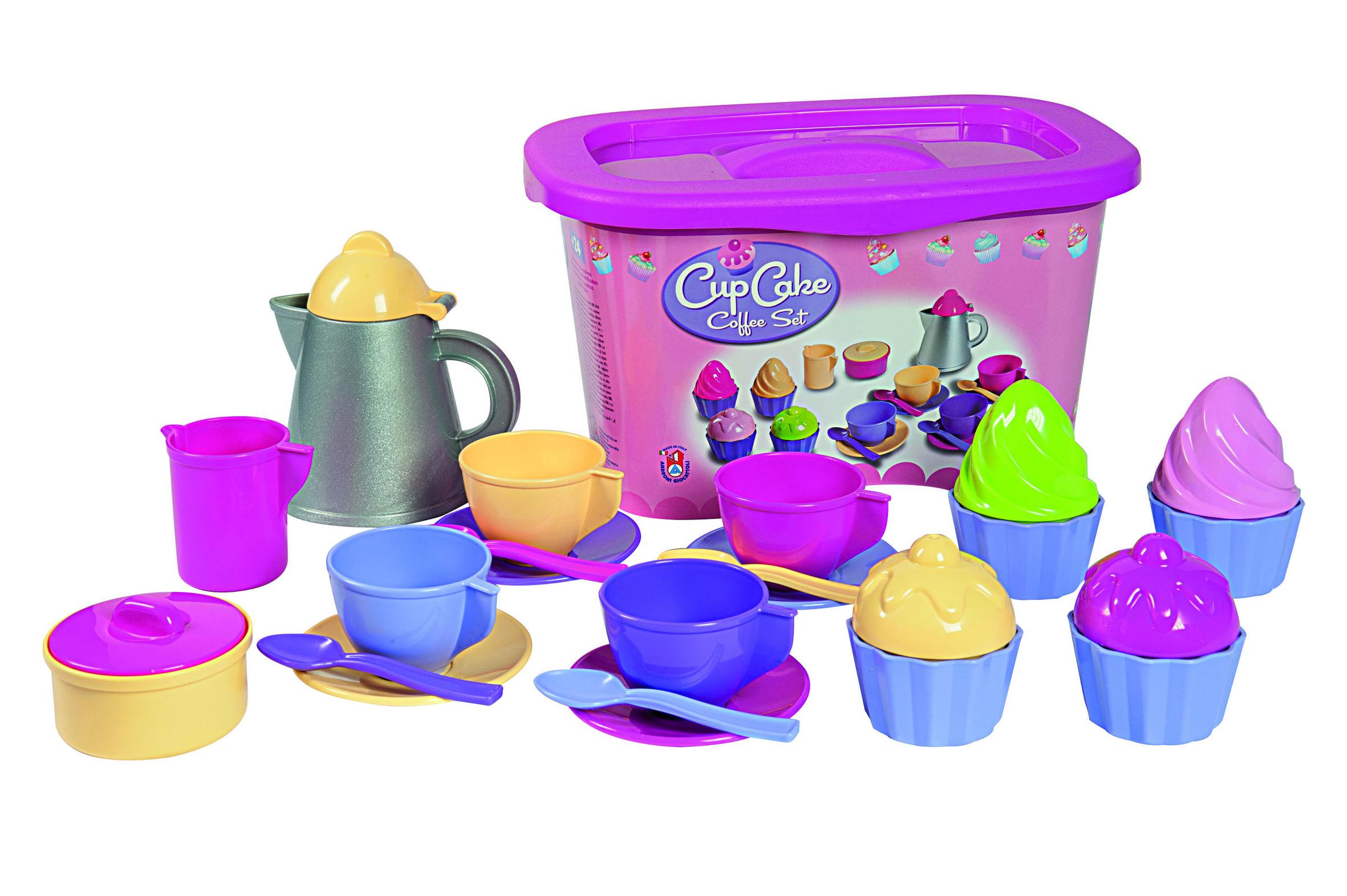 Cupcake Puppenservice