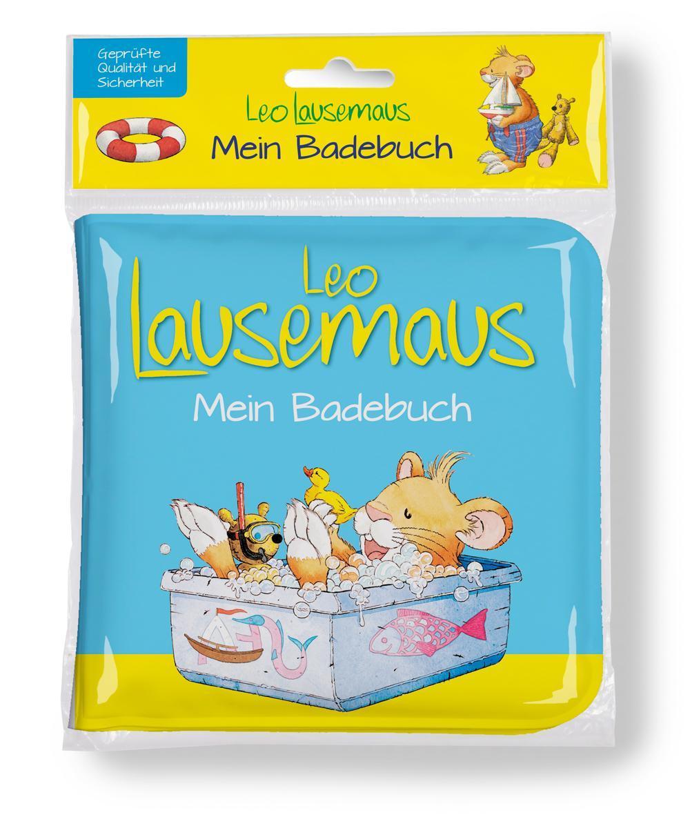 Leo Lausemaus Mein Badebuch