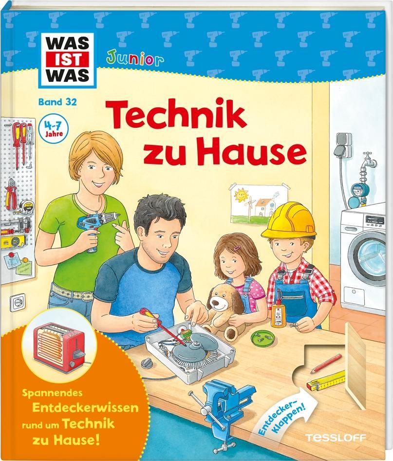 Was Ist Was junior Technik zu Hause