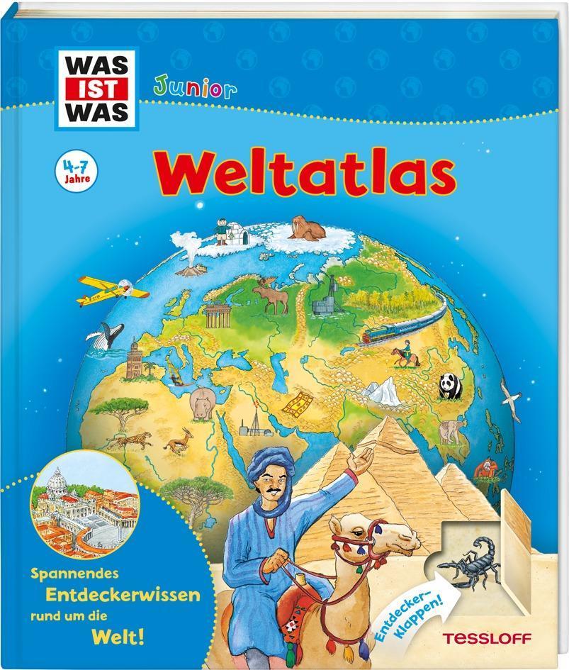 WAS IST WAS Junior Weltatlas