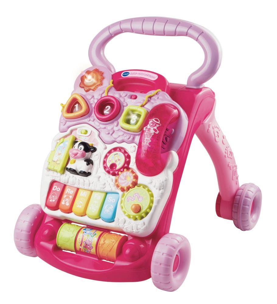 Vtech Spiel- und Laufwagen pink