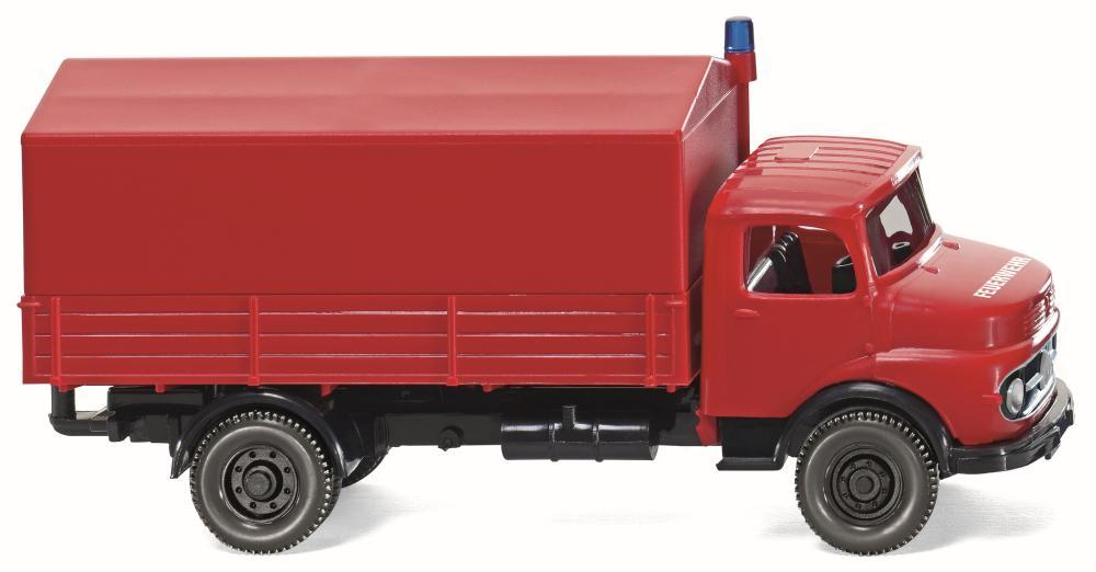 WIKING 086134 Feuerwehr Pritschen-Lkw